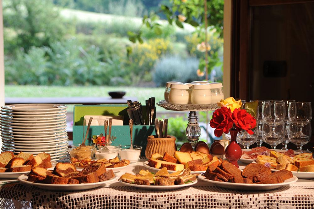 Ricca Colazione - Agriturismo La Rosa Tea