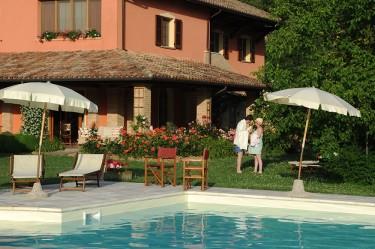 agriturismo la rosa tea - esterno piscina romanticismo
