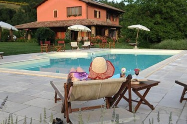 agriturismo la rosa tea - esterno piscina relax