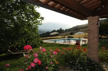 agriturismo la rosa tea - esterno piscina rose