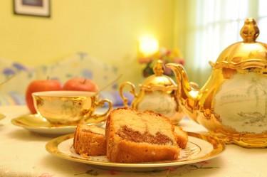 camera doppia agriturismo la rosa tea - colazione in camera particolare